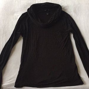H&M Black scoop neck top